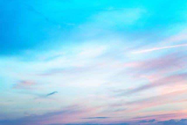 image of a blue sky