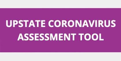 Upstate's online coronavirus assessment tool