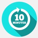 10-minute time clock