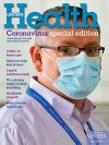 Upstate Health magazine cover for spring 2020, special coronavirus edition