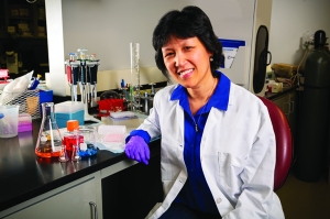 Lung cancer diagnosis offered many lessons to this research technician
