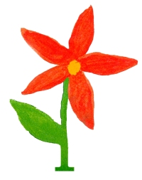 Kara MacDougall's painting of a flower represents the positive spirit of the charity named in her memory.